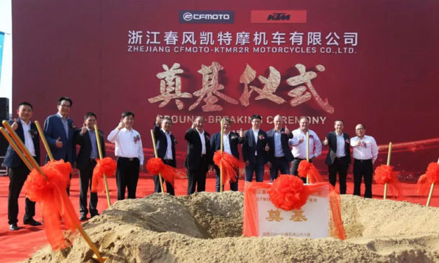 KTM amplía su mercado en territorio asiático, al aliarse con CFMoto en China