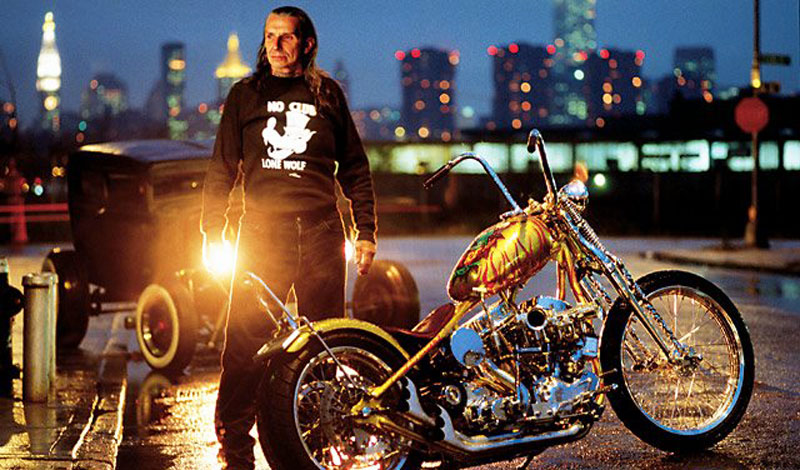 Indian Larry, el hombre que susurraba a las motos