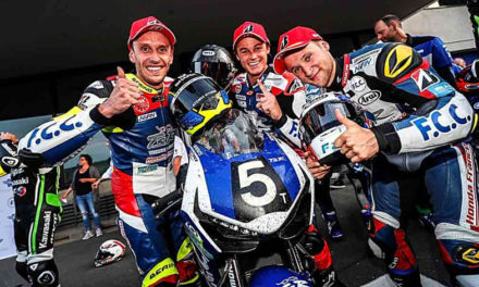 El F.C.C TSR Honda France triunfa en las 8 horas de Oschersleben