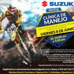 Clínica de Manejo de Motocross SUZUKI en Querétaro