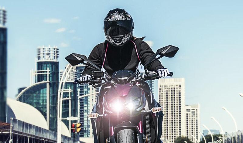 Un casco con estilo y seguridad