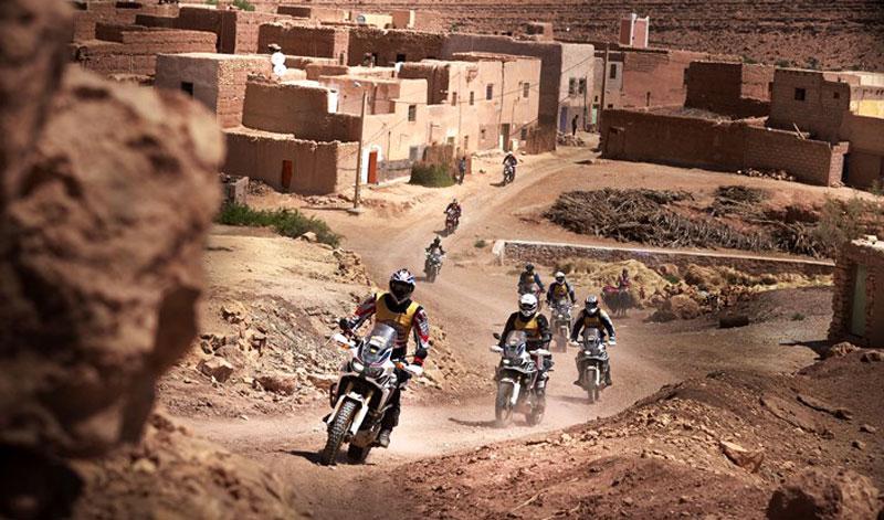 Un viaje pleno de aventura: así se vivió la segunda edición del Honda Africa Twin Morocco Epic Tour 2018