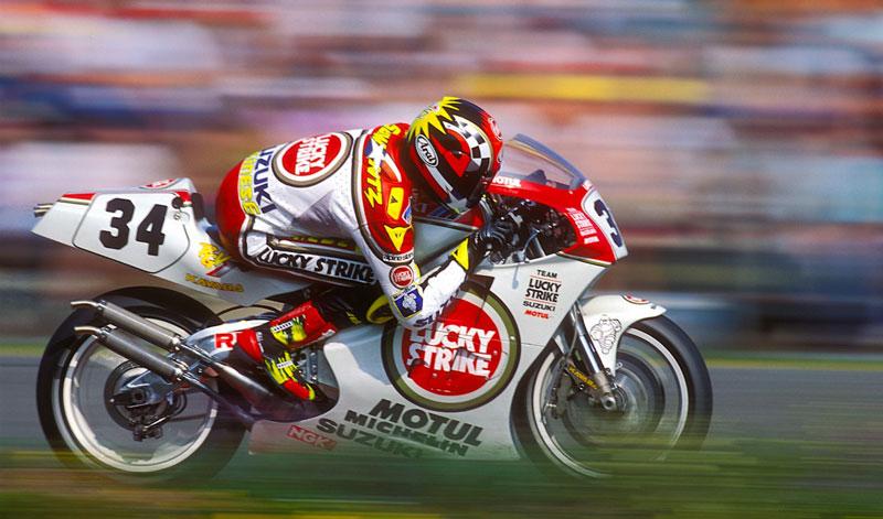 Kevin Schwantz emblema del motociclismo extremo