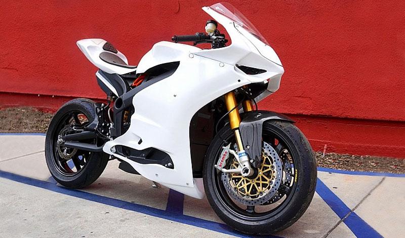 Descubre el resultado de la fusión entre una Ducati y una Zero