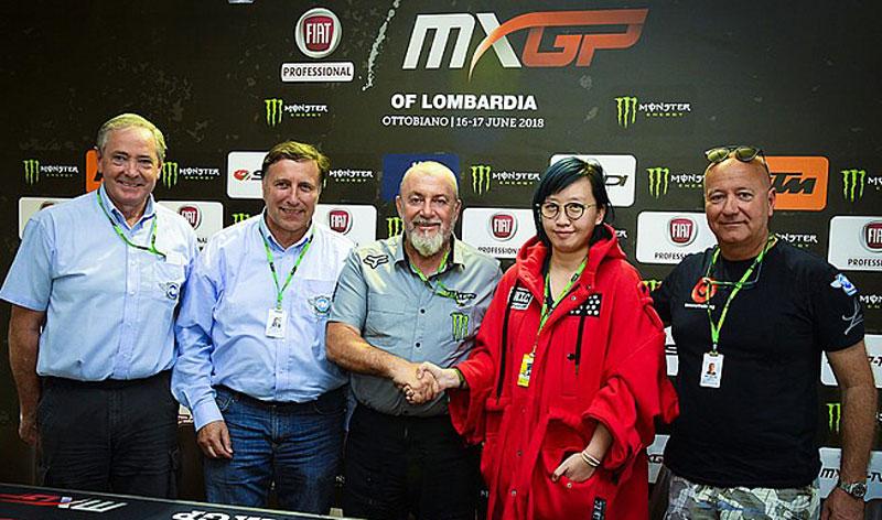El Campeonato Mundial de MXGP visitará Hong Kong