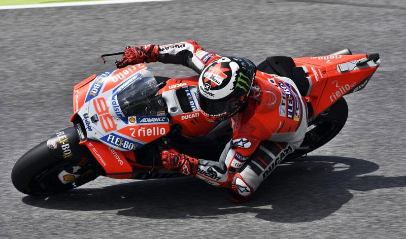 Sorpresiva victoria para Jorge Lorenzo en MotoGP