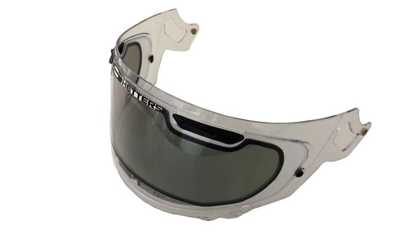 Lo último en tecnología: visera fotocromática para tu casco