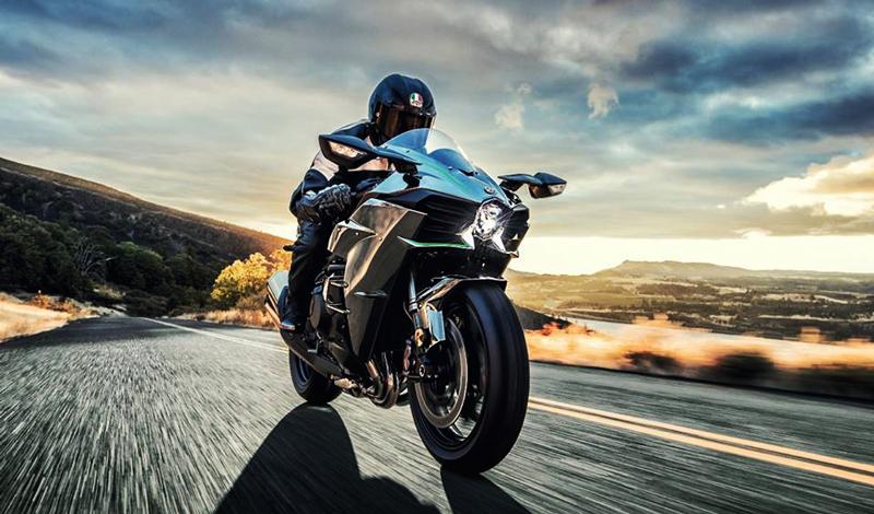La Motocicleta Más Veloz De Kawasaki La Ninja H2 Motociclo