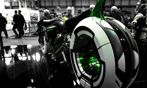 Kawasaki patenta un prototipo de tres ruedas