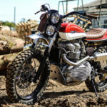 Originalidad sobre ruedas: Triumph Sacrambler RedMax
