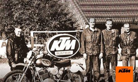 KTM a través de la historia