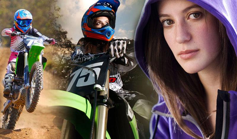 Lorena Garal: una precursora del motocross femenil en México
