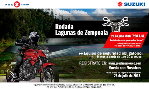 ¿Ya conoces las Lagunas de Zempoala? Suzuki Pro-Shop te lleva a conocerlas