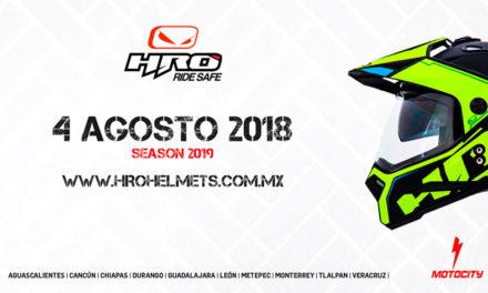 Llegan los nuevos Cascos HRO México a Motocity