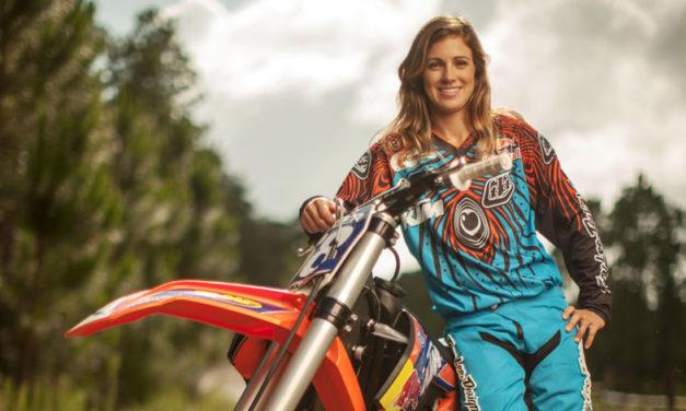Audaz e intrépida: Tarah Gieger, una reina del motocross femenil