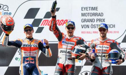 Cardíaco duelo entre Lorenzo y Márquez en Austria
