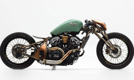 Indian Scout Bobber de la NASA
