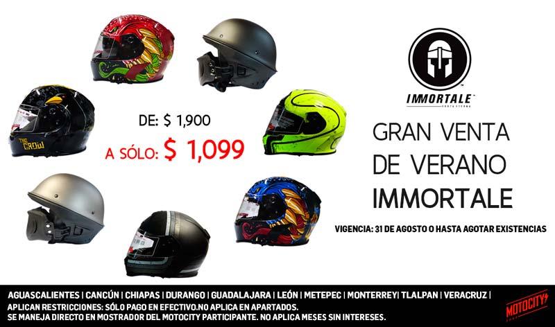 Gran venta de verano Immortale en Motocity