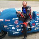 Récord de velocidad con Bill Warner sobre una Suzuki  Hayabusa