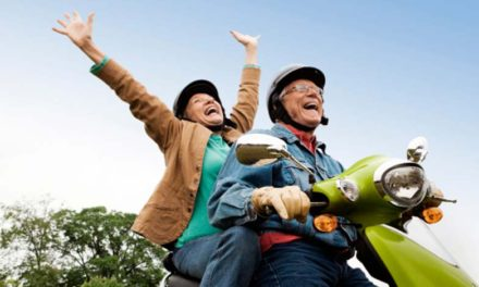 Viajar en moto es sinónimo de felicidad