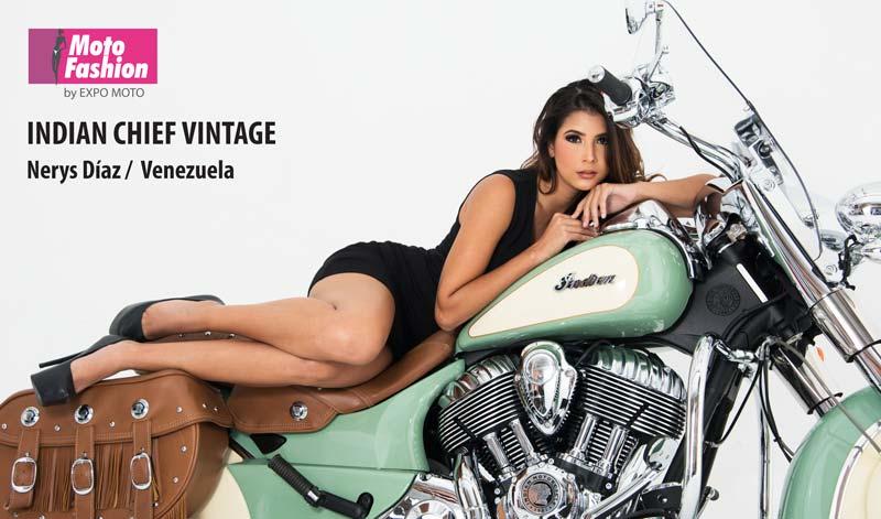 Nerys Díaz, belleza venezolana que viene a conquistar las pasarelas de Moto Fashion