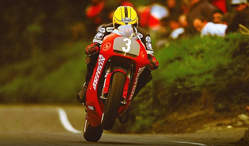 ¡A subasta el equipo con el que Joey  Dunlop ganó el TT de 1998!