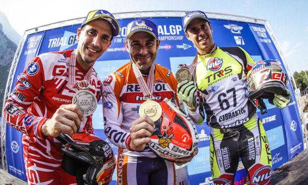 ¡Qué sigan los triunfos! Toni Bou, campeón del Mundial de Trial 2018