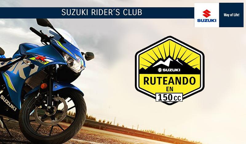 """""""Ruteando en 150cc con tu Suzuki"""""""