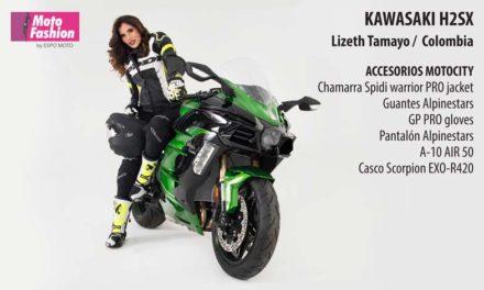 Lizeth Tamayo, belleza internacional que llega desde Colombia para desfilar en las pasarelas de MOTO FASHION, en el marco de Expo Moto 2018, del 22 al 25 de noviembre