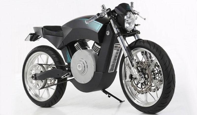 Una customizada totalmente eléctrica llega a romper paradigmas y a revolucionar el motociclismo del futuro
