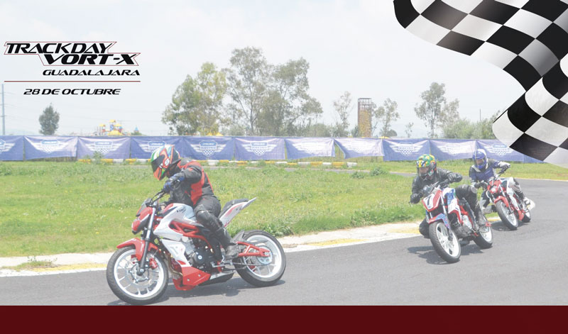 Track Day ITALIKA en el autódromo de Guadalajara