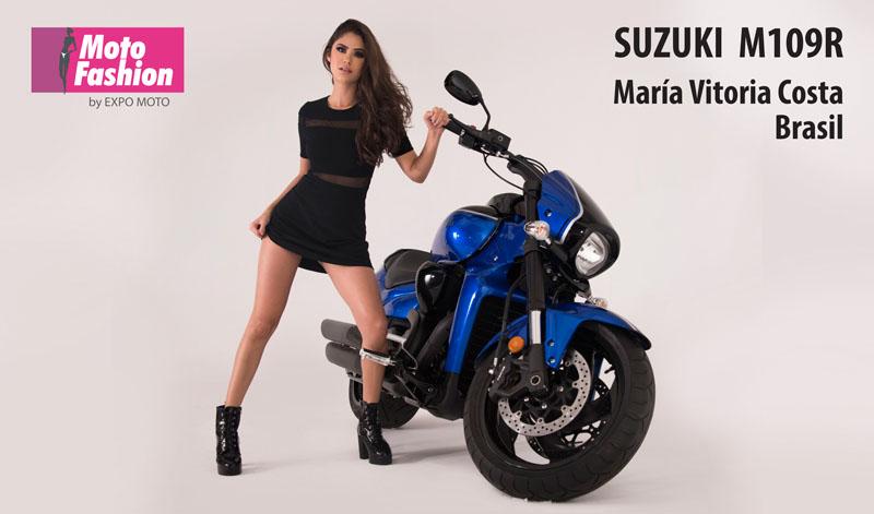 María Vitoria, belleza que engalanará las pasarelas de MOTO FASHION en el marco de EXPO MOTO, del 22 al 25 de noviembre