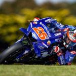 Maverick Viñales a lo más alto del podio en el GP de Australia
