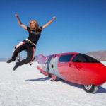 Valerie Thompson, la reina de la velocidad de América