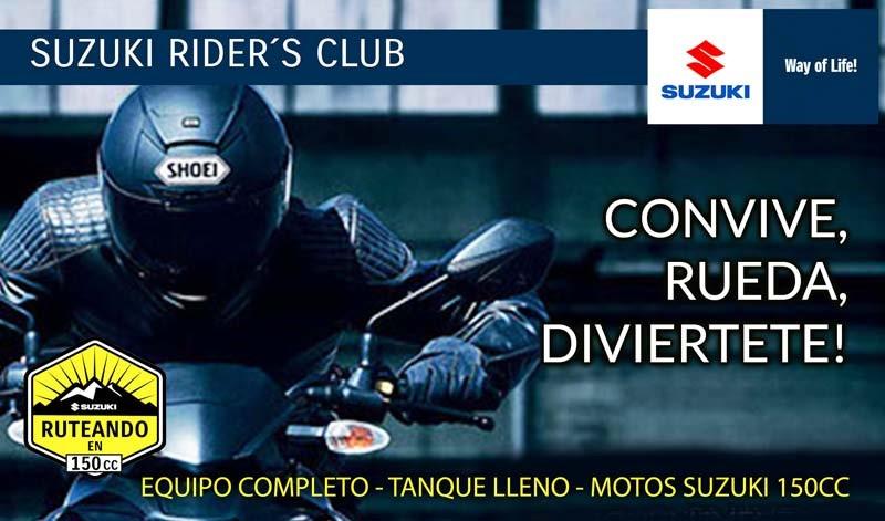 ¿Estás listo para rodar con Suzuki?