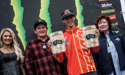 Motocross  de las Naciones 2018: Jorge Prado primero  en la clasificación MX2