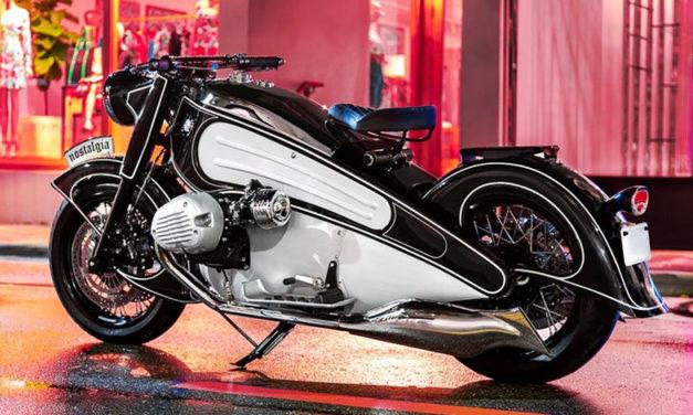 Es creada una edición especial de la BMW R7, la moto más bella de la firma alemana