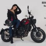 El país de la belleza nos envía a una guapa embajadora, Rossmery Fernández, quien cierra el cuadro de las 12 participantes de Moto Fashion 2018