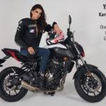 Brasil sigue proyectando su presencia con Karol Ribeiro, la decimoprimera modelo oficial en las pasarelas de MOTO FASHION, en el marco de la decimonovena Edición de EXPO MOTO
