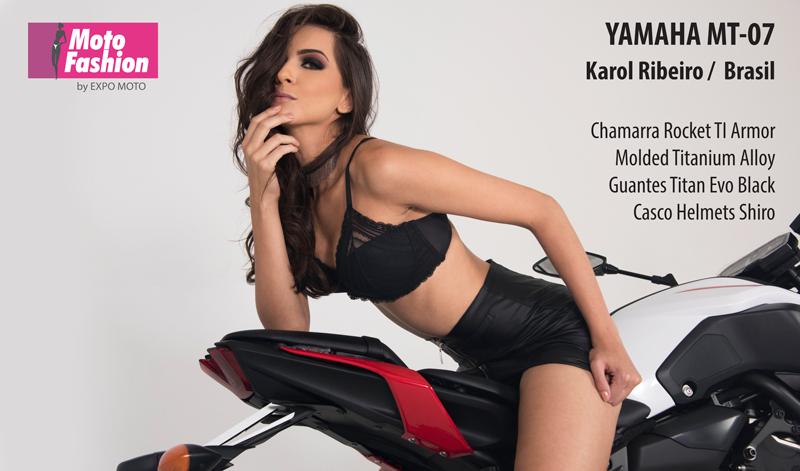 Proveniente de Brasil, Karol Ribeiro llegó para lucir su belleza en las pasarelas de Moto Fashion, del 22 al 25 de noviembre