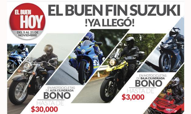 """""""Es momento de estrenar con la promoción del BUEN HOY de SUZUKI"""""""