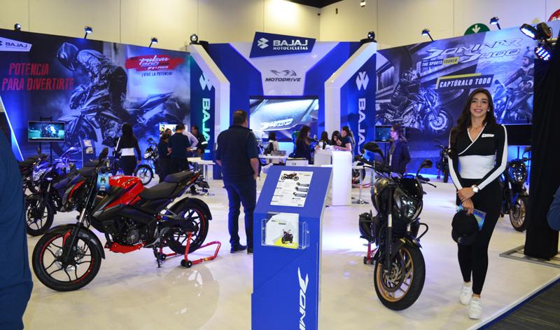 Bajaj presento en EXPO MOTO 2018 sus modelos más recientes