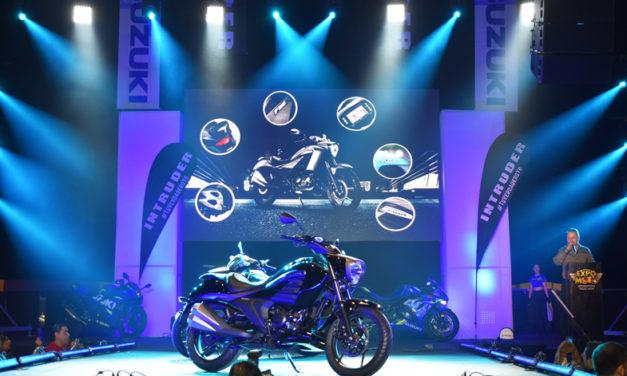 Suzuki presenta una nueva de máquina velocidad, la Intruder 2019