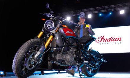 Indian Motorcycle acapara las miradas de los asistentes a Expo Moto con su imponente presencia