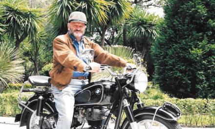 Eduardo Veraza, una vida en moto