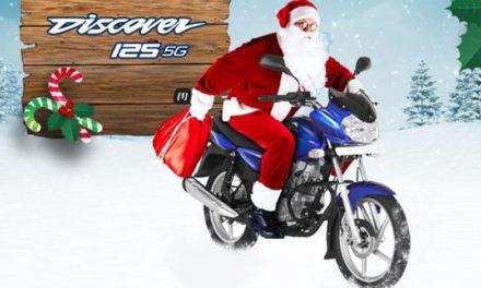 La moto ideal para iniciar Año Nuevo: Bajaj Discover 125