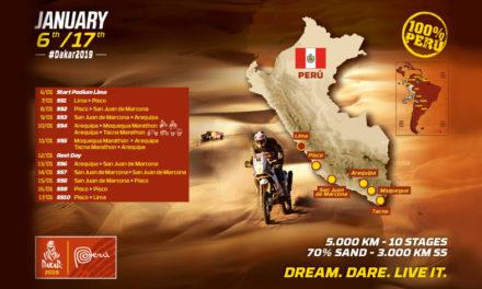 Calentando motores para el Dakar 2019