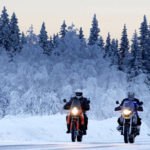 Consejos para conducir tu moto durante el invierno