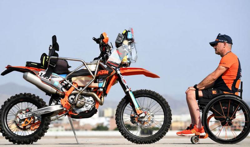 Conoce la historia de superación y tenacidad de Nicola Dutto, un piloto que está dispuesto a algún día llevarse el Dakar