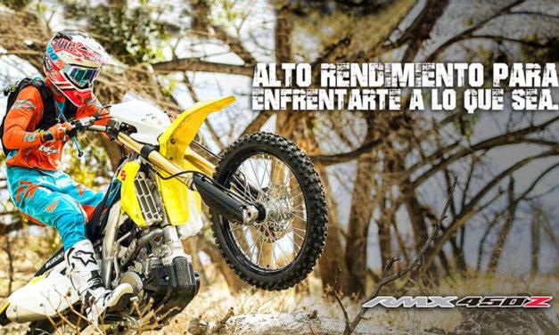 ¿El enduro es tu disciplina? Conoce la Suzuki RMX-450Z